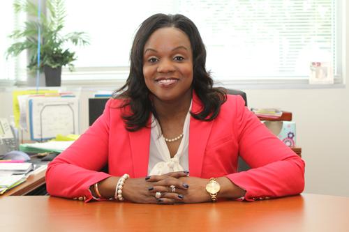 Peck Elementary School Principal Carlotta Brown.